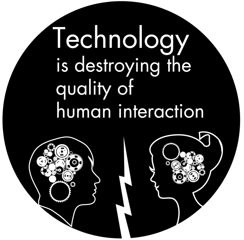 Technology or human interactions