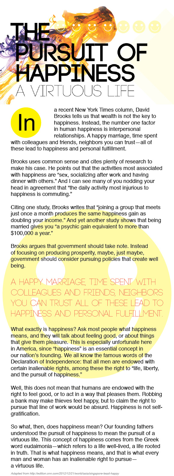 my pursuit of happiness marriage and divorce how are they similar Pursuing happiness: the architecture of sustainable change sonja lyubomirsky university of california, riverside kennon m sheldon university of missouri—columbia.